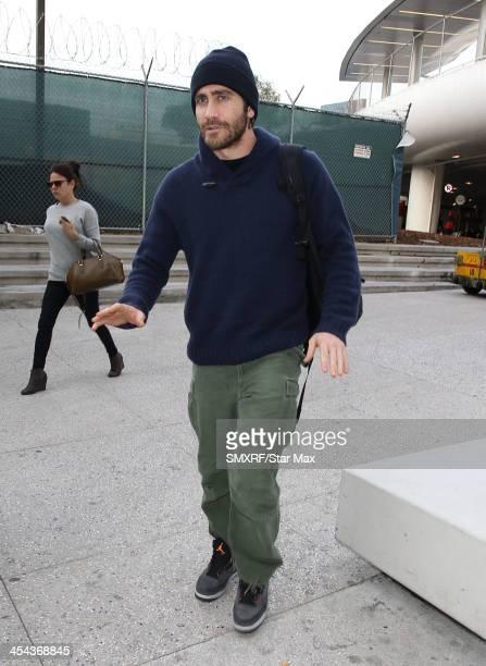 Actor Jake Gyllenhaal is seen on December 8 2013 in Los Angeles California