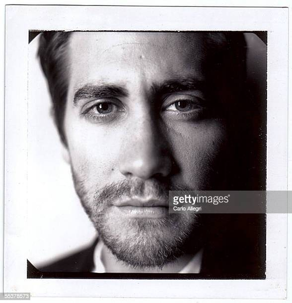 Actor Jake Gyllenhaal poses for a Polaroid portrait while promoting his film Brokeback Mountain at the Toronto International Film Festival September...