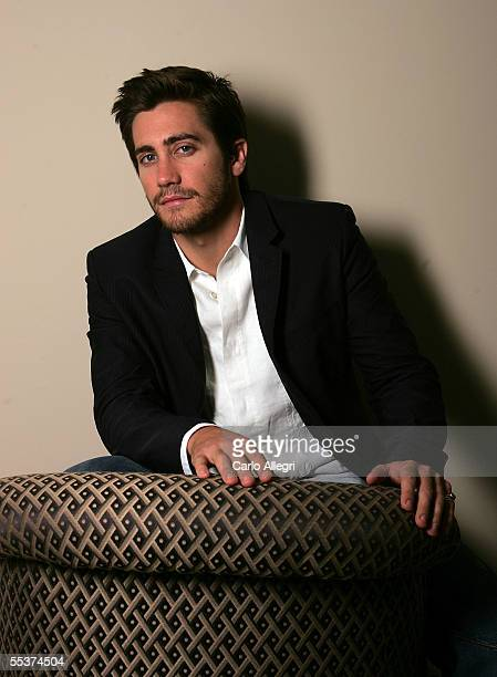 Actor Jake Gyllenhaal poses for a portrait while promoting his film Brokeback Mountain at the Toronto International Film Festival September 10 2005...