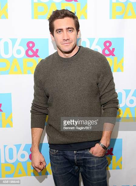 Actor Jake Jake Gyllenhaal attends 106 Park at BET studio on October 29 2014 in New York City