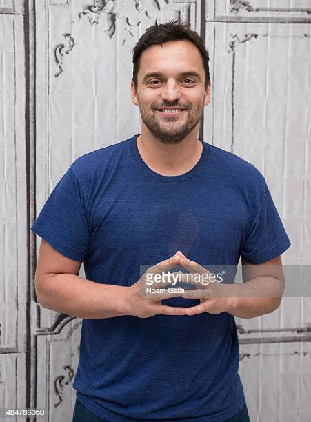 Actor Jake Johnson attends AOL's BUILD Speaker Series 'Digging For Fire' at AOL Studios In New York on August 21 2015 in New York City