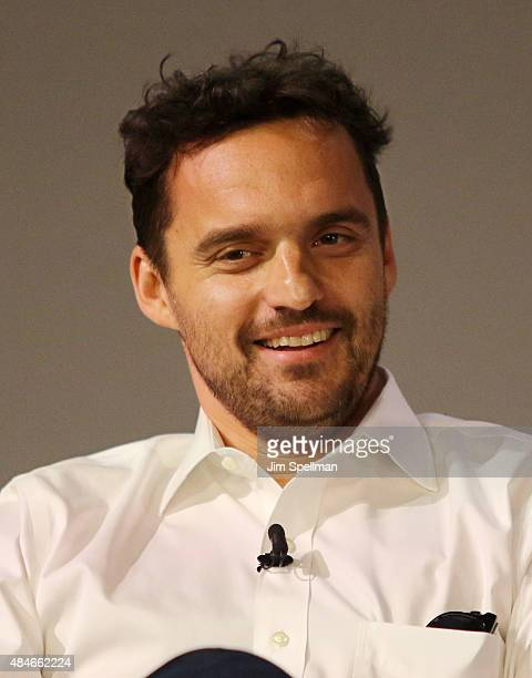 Actor Jake Johnson attends the Apple Store Soho Presents Meet the Filmmaker Jake Johnson and Joe Swanberg 'Digging for Fire' at Apple Store Soho on...