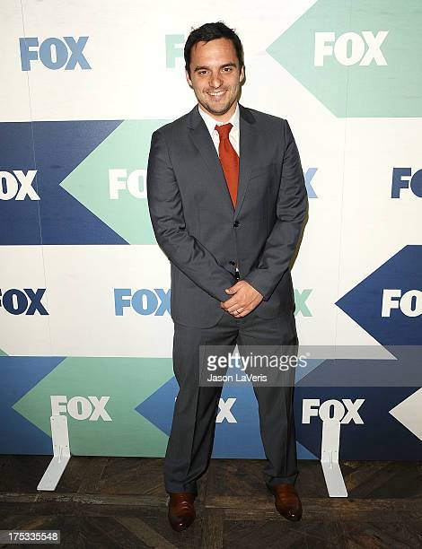 Actor Jake Johnson attends the FOX AllStar Party on August 1 2013 in West Hollywood California