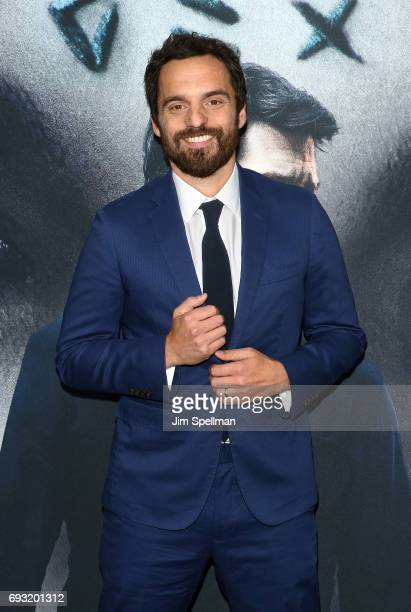 Actor Jake Johnson attends 'The Mummy' New York fan event at AMC Loews Lincoln Square on June 6 2017 in New York City