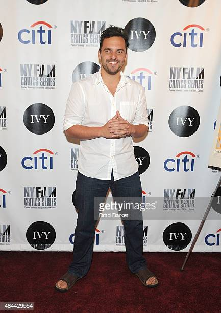 Actor Jake Johnson attends the New York Film Critics Series screening of Digging For Fire at AMC Empire 25 theater on August 18 2015 in New York City
