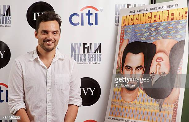 Actor Jake Johnson attends the New York Film Critics Series screening of 'Digging for Fire' at AMC Empire 25 theater on August 18 2015 in New York...