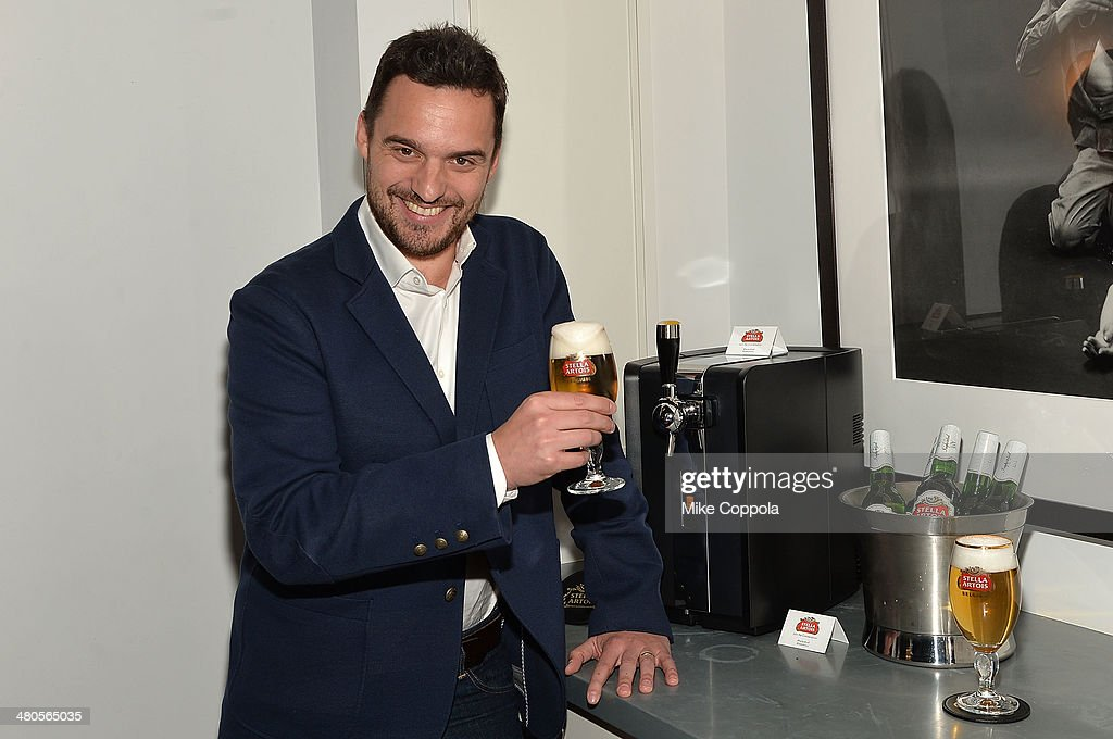 Actor Jake Johnson attends the Stella Artois PerfectDraft Home Bar celebration event on March 25, 2014 in New York City.