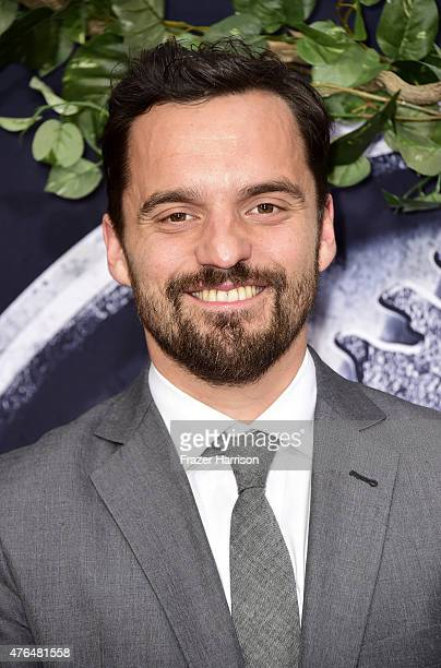 Actor Jake Johnson attends the Universal Pictures' 'Jurassic World' premiere at Dolby Theatre on June 9 2015 in Hollywood California