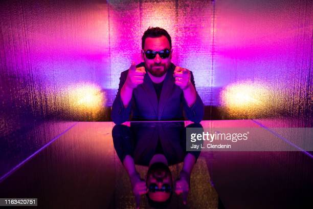 Actor Jake Johnson from 'Stumptown' is photographed for Los Angeles Times at ComicCon International on July 19 2019 in San Diego California PUBLISHED...