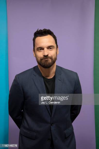 Actor Jake Johnson of 'Stumptown' is photographed for Los Angeles Times at ComicCon International on July 19 2019 in San Diego California PUBLISHED...
