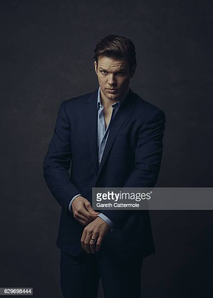 Actor Jake Lacy is photographed at the 13th annual Dubai International Film Festival held at the Madinat Jumeriah Complex on December 8, 2016 in...