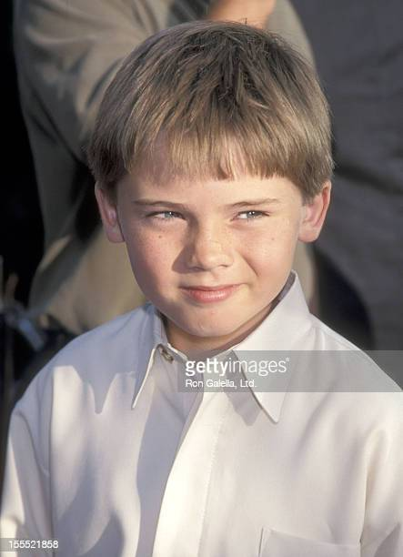 Actor Jake Lloyd attends the Austin Powers The Spy Who Shagged Me Universal City Premiere on June 8 1999 at Universal Amphitheatre in Universal City...