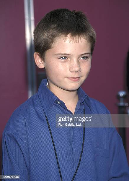 Actor Jake Lloyd attends The Hollywood Reporter's Fourth Annual YoungStar Awards on November 7 1999 at Universal Studios in Universal City California