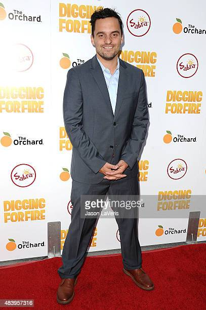 Actor Jake M Johnson attends the premiere of 'Digging For Fire' at ArcLight Cinemas on August 13 2015 in Hollywood California