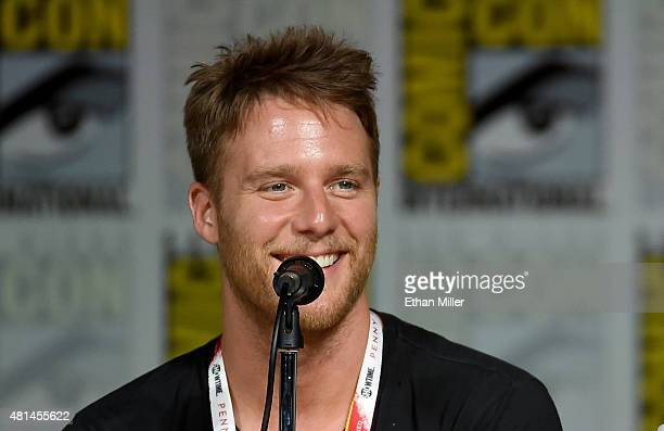 Actor Jake McDorman attends CBS TV Studios' panel for Limitless during ComicCon International 2015 at the San Diego Convention Center on July 9 2015...