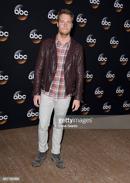 Actor Jake McDorman attends the Disney/ABC Television Group 2014 Television Critics Association Summer Press Tour at The Beverly Hilton Hotel on July...