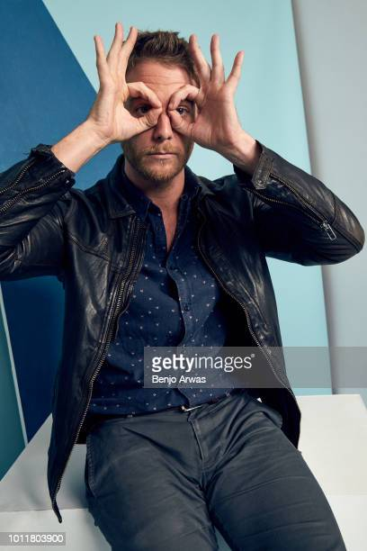 Actor Jake McDorman of CBS's 'Murphy Brown' poses for a portrait during the 2018 Summer Television Critics Association Press Tour at The Beverly...