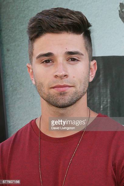 Actor Jake Miller arrives at the premiere of New Line Cinema's 'Lights Out' at the TCL Chinese Theatre on July 19 2016 in Hollywood California
