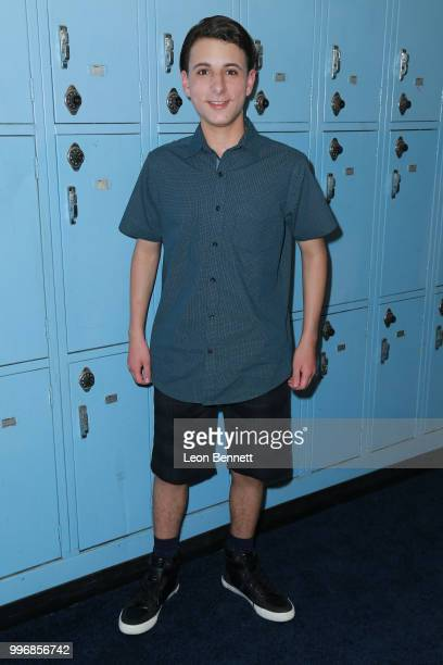 Actor Jake Ryan attends the Screening Of A24's 'Eighth Grade' Arrivals at Le Conte Middle School on July 11 2018 in Los Angeles California
