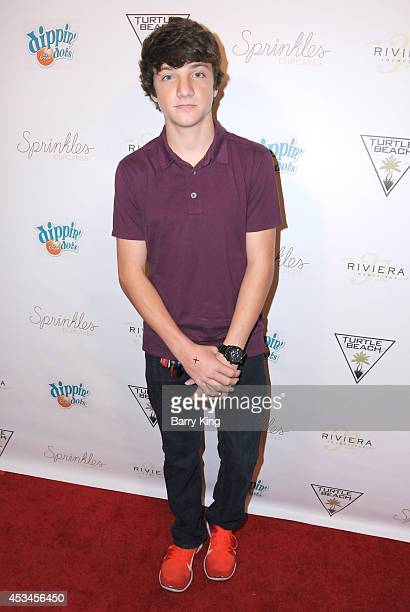 Actor Jake Short arrives at Blake Michael's 18th Birthday on Riviera 31 on August 9 2014 in Beverly Hills California