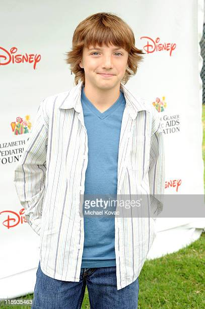 Actor Jake Short arrives at the 22nd Annual Time for Heroes Celebrity Picnic sponsored by Disney to benefit the Elizabeth Glaser Pediatric AIDS...