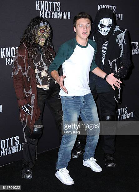 Actor Jake Short attends Knott's Scary Farm black carpet event at Knott's Berry Farm on September 30 2016 in Buena Park California