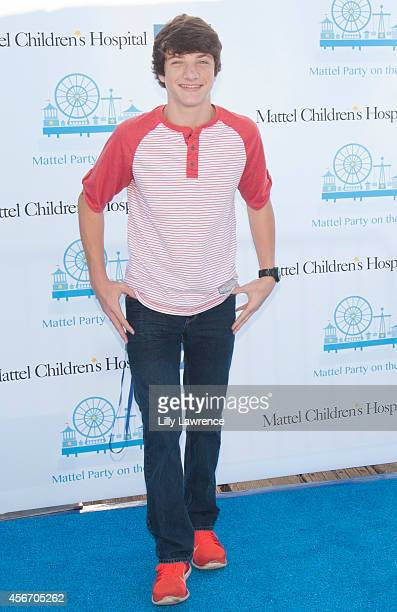 Actor Jake Short attends Mattel's 5th Annual Party On The Pier Hosted By Sarah Michelle Gellar at Santa Monica Pier on October 5 2014 in Santa Monica...