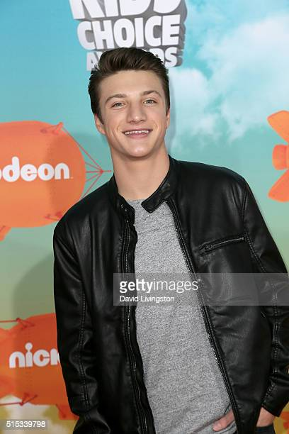 Actor Jake Short attends Nickelodeon's 2016 Kids' Choice Awards at The Forum on March 12 2016 in Inglewood California