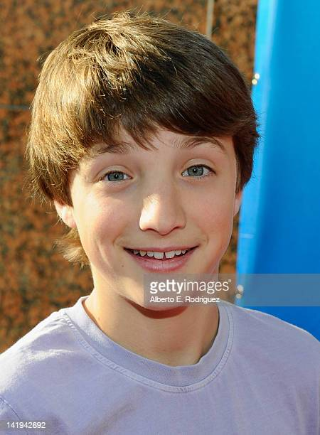 Actor Jake SHort attends Twentieth Century Fox Home Entertainment's Alvin and the Chipmunks Chipwrecked Bluray and DVD release party at El Rey...