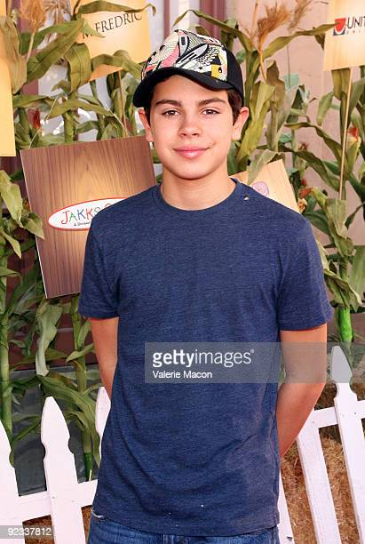 Actor Jake T Austin arrives at camp Ronald McDonald for good times 17th annual Halloween Carnival at Universal Studios Backlot on October 25 2009 in...