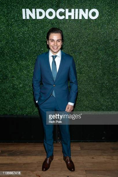 Actor Jake T Austin attends Indochino Los Angeles Spring/Summer '19 Launch Party at SkyBar at the Mondrian Los Angeles on March 13 2019 in West...