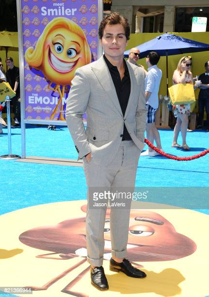 Actor Jake T Austin attends the premiere of 'The Emoji Movie' at Regency Village Theatre on July 23 2017 in Westwood California