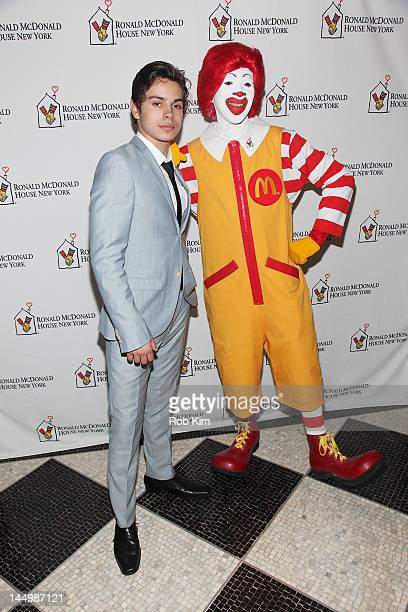 Actor Jake T Austin attends the Ronald McDonald House 20th Gala at The Waldorf=Astoria on May 21 2012 in New York City