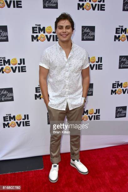 Actor Jake T Austin attends the Saks Celebrates World Emoji Day event at Saks Fifth Avenue on July 17 2017 in New York City