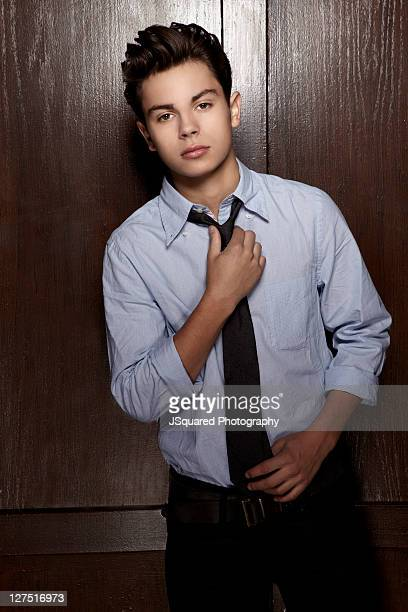 Actor Jake T Austin is photographed for a Self Assignment on July 22 2011 in Los Angeles California