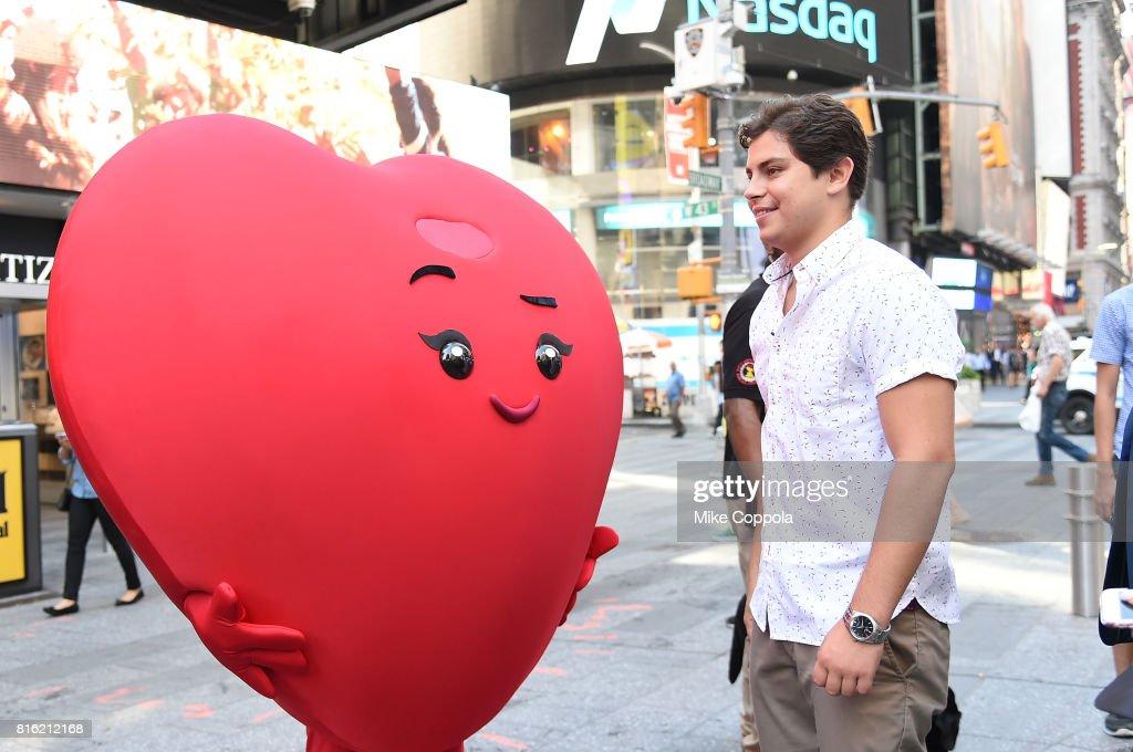 Actor Jake T. Austin of The Emoji Movie Celebrates World Emoji Day On Good Morning America on July 17, 2017 in New York City.
