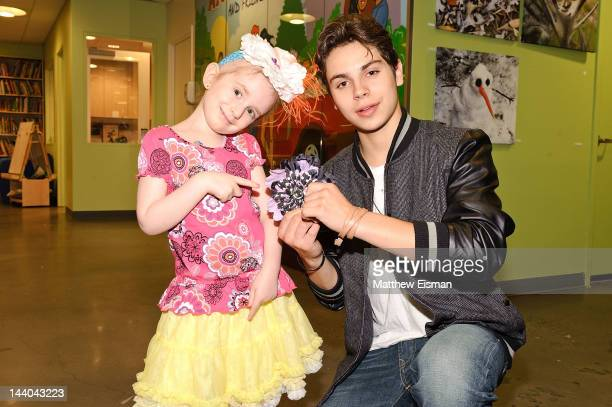 Actor Jake T Austin visits Ronald McDonald House on May 8 2012 in New York City