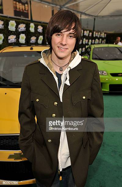 Actor Jake Thomas arrives at Chevy Rocks The Future at the Buena Vista Lot at The Walt Disney Studios on February 19 2008 in Burbank California