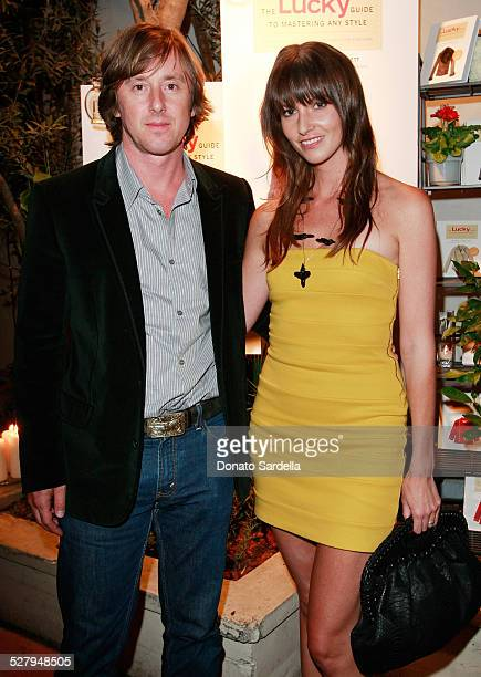 Actor Jake Weber and designer Liz Carey attend the Lucky Guide to Mastering Any Style launch on October 2 2008 in Los Angeles California