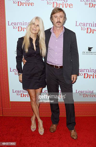 Actor Jake Weber and Korri Culbertson attend the Learning To Drive New York premiere at The Paris Theatre on August 17 2015 in New York City