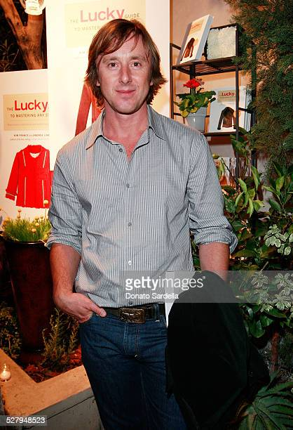 Actor Jake Weber attend the Lucky Guide to Mastering Any Style launch on October 2 2008 in Los Angeles California