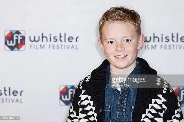 Actor Jakob Davies attends the 15th Annual Film Festival at Whistler Conference Centre on December 5 2015 in Whistler Canada