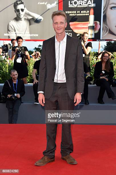 Actor Jakob Diehl attends the premiere of 'Paradise' during the 73rd Venice Film Festival at Sala Grande on September 8 2016 in Venice Italy