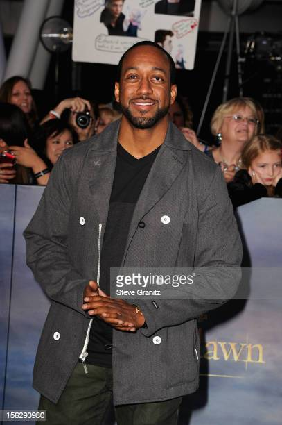 Actor Jaleel White arrives at The Twilight Saga Breaking Dawn Part 2 Los Angeles premiere at Nokia Theatre LA Live on November 12 2012 in Los Angeles...