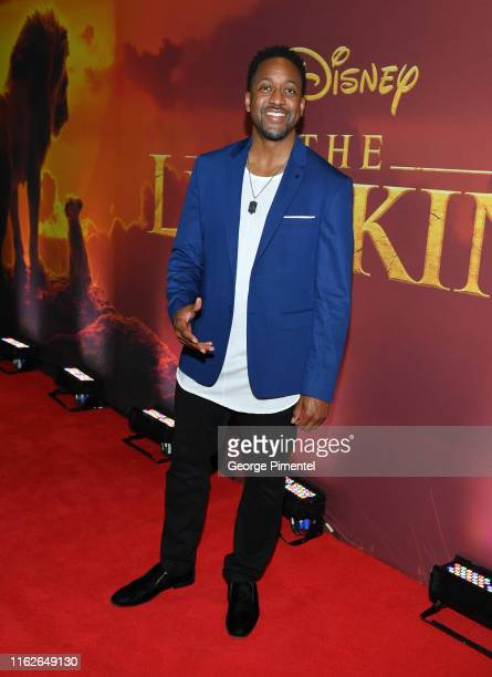 Actor Jaleel White attends 'The Lion King' Canadian Premiere held at Scotiabank Theatre on July 17 2019 in Toronto Canada