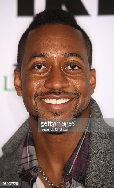 Actor Jaleel White attends the second annual Streamy Awards at the Orpheum Theater on April 11 2010 in Los Angeles California