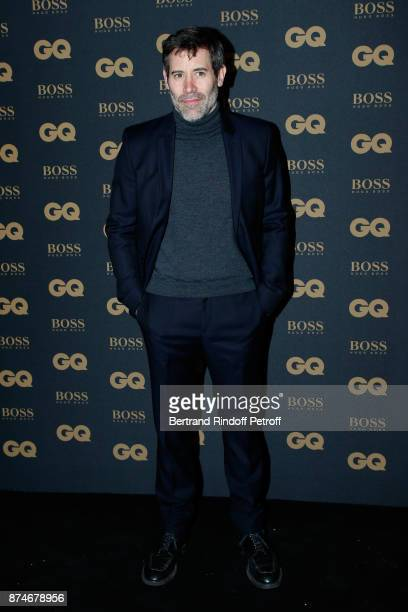 Actor Jalil Lespert attends the GQ Men of the Year Awards 2017 at Le Trianon on November 15 2017 in Paris France