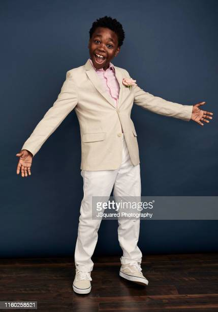 Actor Jalyn Hall of The CW's 'All American' poses for a portrait during the 2019 Summer TCA Portrait Studio at The Beverly Hilton Hotel on August 04...