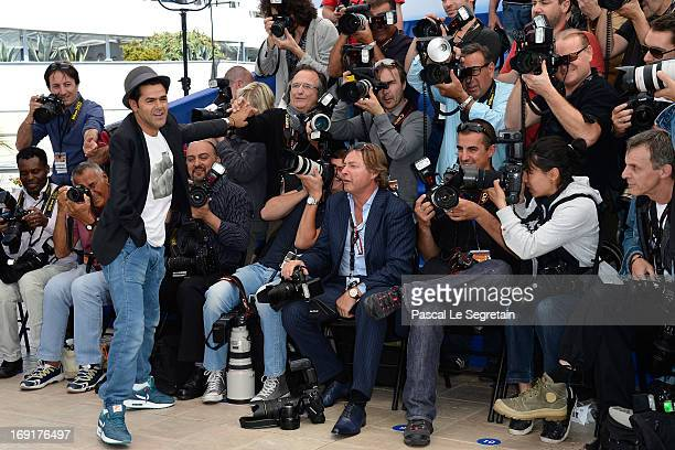 Actor Jamel Debbouze attends the 'Ne Quelque Part' Photocall during The 66th Annual Cannes Film Festival at the Palais des Festivals on May 21 2013...