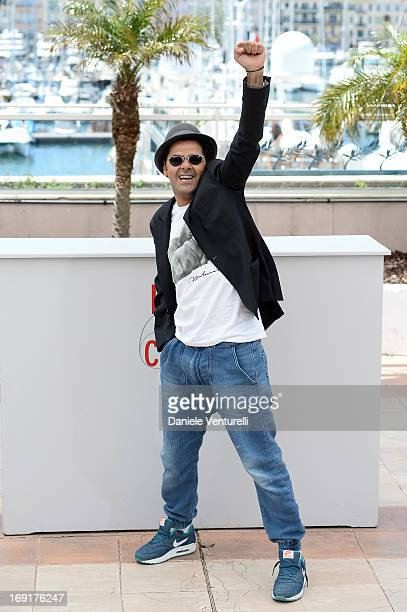 Actor Jamel Debbouze attends the photocall for 'Ne Quelque Part' during The 66th Annual Cannes Film Festival at Palais des Festivals on May 21 2013...